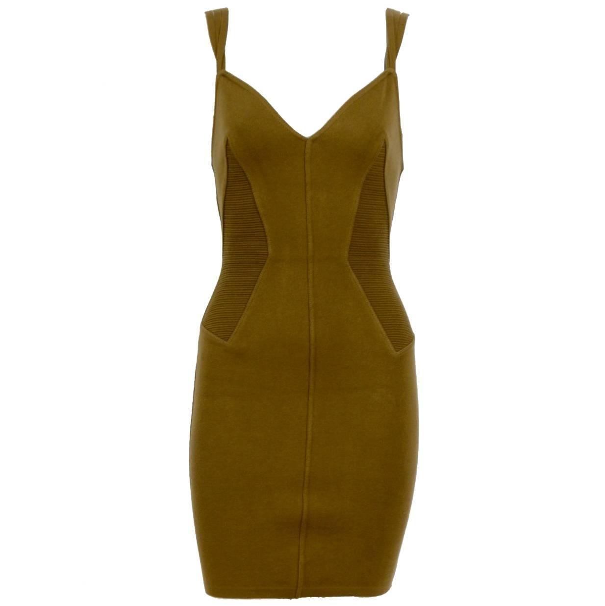 Alaia spring summer collection dress,  1990