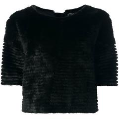Christian Dior Mink Fur Top