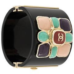 Chanel Embellished Bangle
