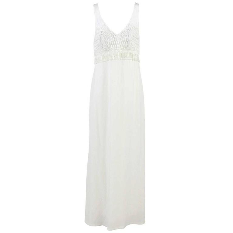 1990s La Perla White Wedding Dress