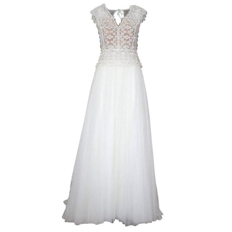 Alberta Ferretti Wedding Dress, 2016