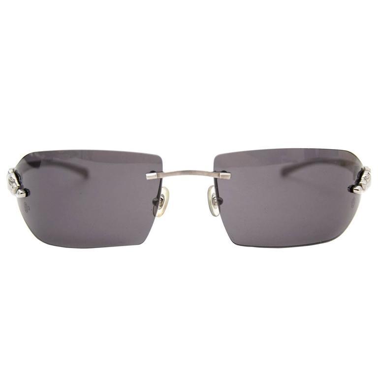 4ad609bcd1 Cartier Panthère de Cartier Sunglasses at 1stdibs
