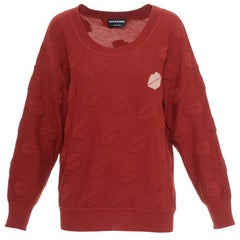 SONIA RYKIEL Lips Knit Sweater