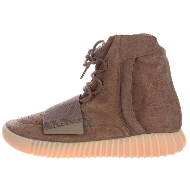 kanye west yeezy x adidas boost new suede high top s