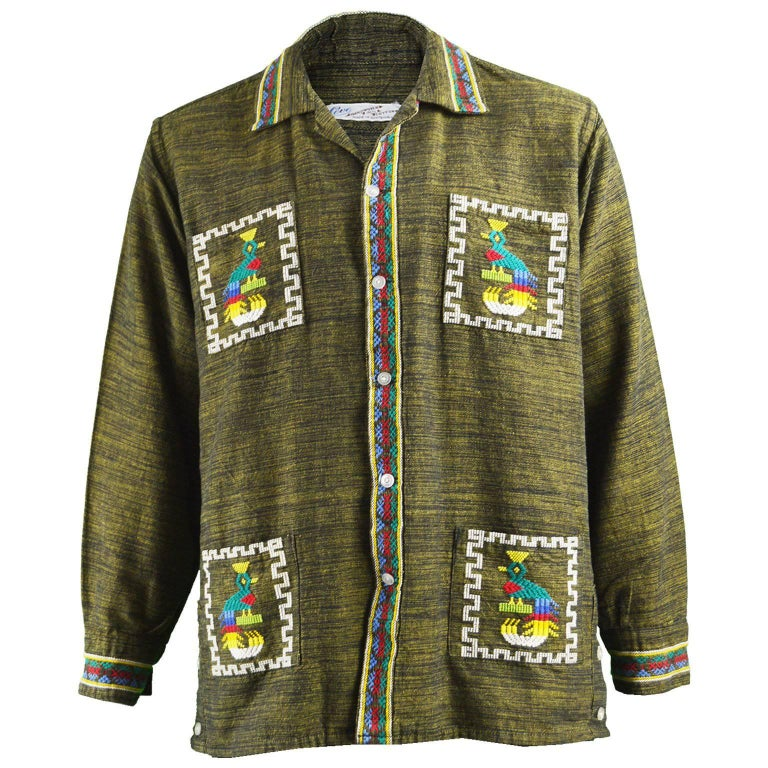 Aztec Shirts Mens