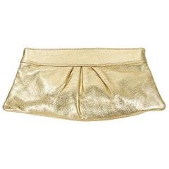 Metallic Gold Lauren Merkin Clutch