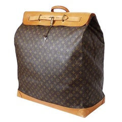 Louis Vuitton Monogram Steamer Bag 55 Travel Bag Rare