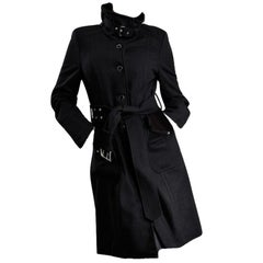 Kenneth Cole New Beautiful Tailored Coat Jacket Trench