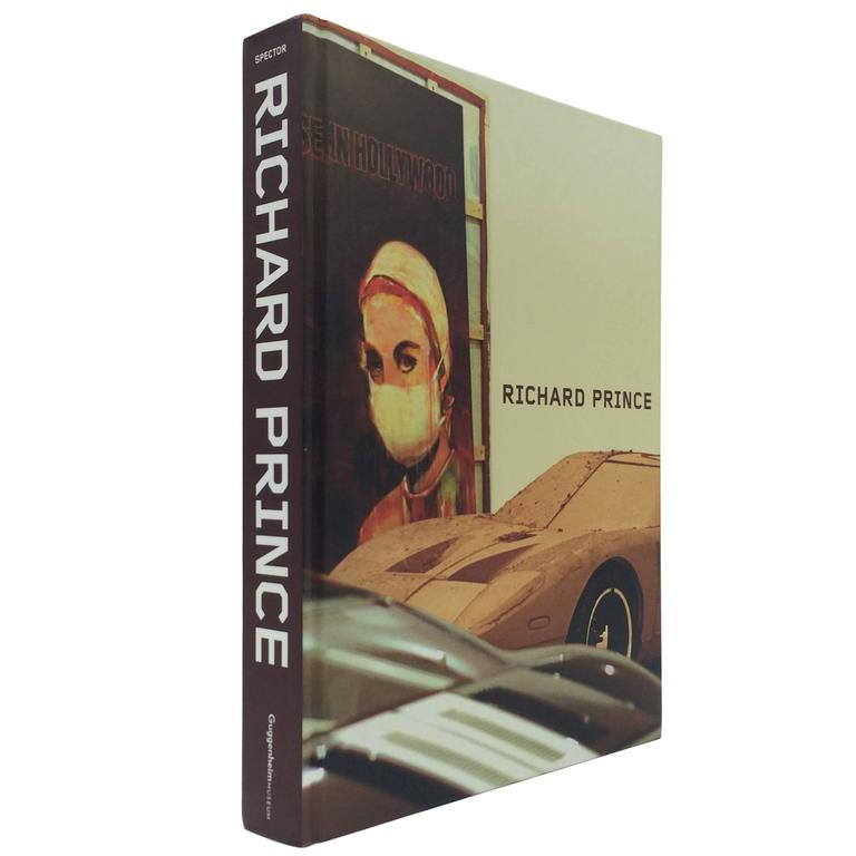 Richard Prince, retrospective book, signed by Prince, 2007