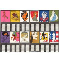 1965 Perennial Woman Calendar by Betty Brader