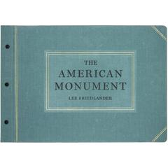 """The American Monument"" Book by Lee Friedlander"