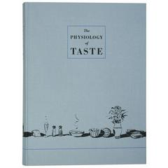 """The Physiology of Taste,"" Book Illustrated by Wayne Thiebaud, Ltd. Ed., Signed"