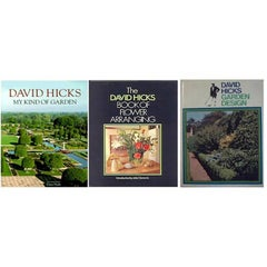 David Hicks Set of First Edition Garden and Flower Arranging Books