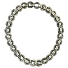 Hector Aguilar Taxco .940 Silver Necklace