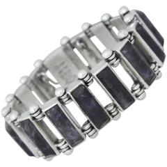 Pineda Amethyst Sterling Silver Bracelet VISIT LAUREN STANLEY FOR MORE JEWELRY