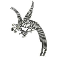 Los Castillo Sterling Silver Bird Motif Brooch