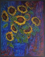 Sun Flowers in a jar