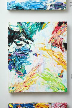 "Contemporary Painting ""Sea Breeze"" by Sebastian Vallejo"