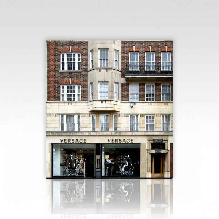 Barnaby Barford Figurative Sculpture - Tower of Babel Sculpture No. 0061, 183-184 Sloane St, SW1X 9QP