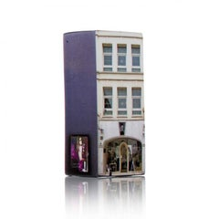 Tower of Babel: Sculpture No. 0518, 16 Greville St EC1N 8SQ by Barnaby Barford