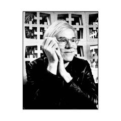 Andy Warhol Smiling At Beverly Hills Hotel