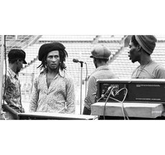 Bob before California Bowl concert
