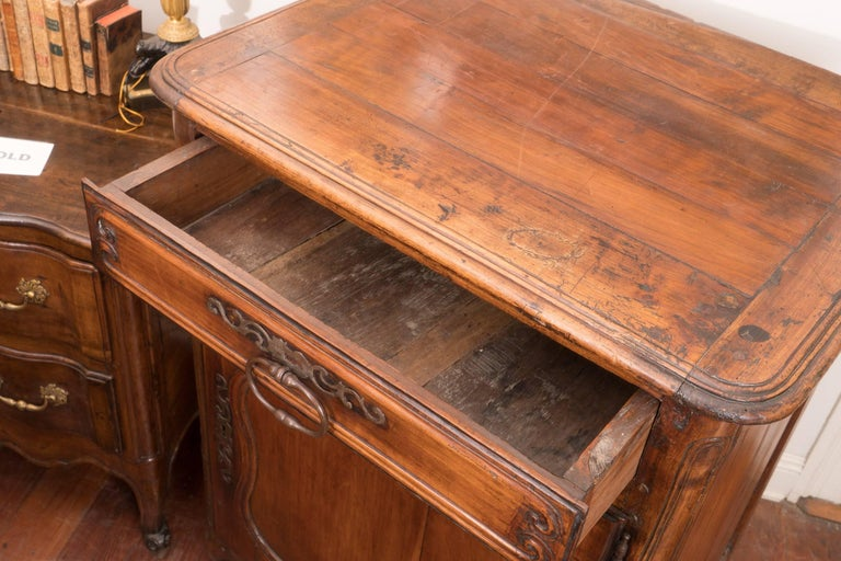 French Pair of 18th Century Walnut Buffets For Sale