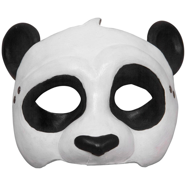 Leather Panda Mask For Sale