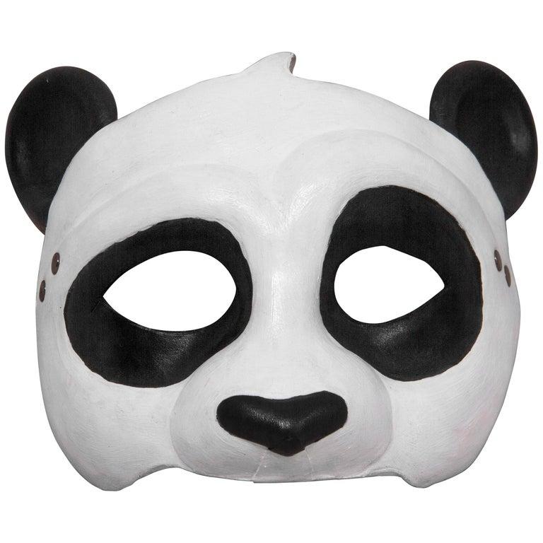 Leather Panda Mask