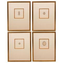Four Framed Intaglios