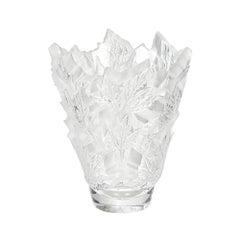 Large Champs-Élysées Vase in Crystal Glass by Lalique