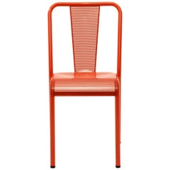 T37 Chair Perforated in Pop Colors by Xavier Pauchard and Tolix