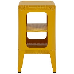 Stool Shelf 500 Perforated in Pop Colors by Frederic Gaunet and Tolix