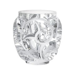 Tourbillons Vase in Crystal Glass by Lalique