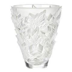 Small Champs-Élysées Vase in Crystal Glass by Lalique