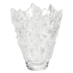 Large Champs-Élysées Vase in Crystal Glass by Lalique