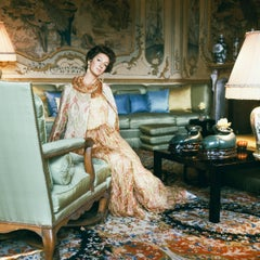 Around That Time -  Marella Agnelli, 1967, Small Archival Pigment Print