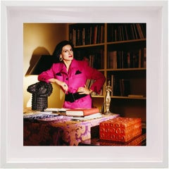 Paloma Picasso New York- Paloma in Pink, Limited edition archival pigment print
