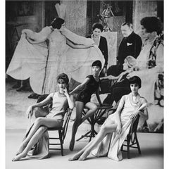 1920's Backdrop Three Girls Lounge, 1961
