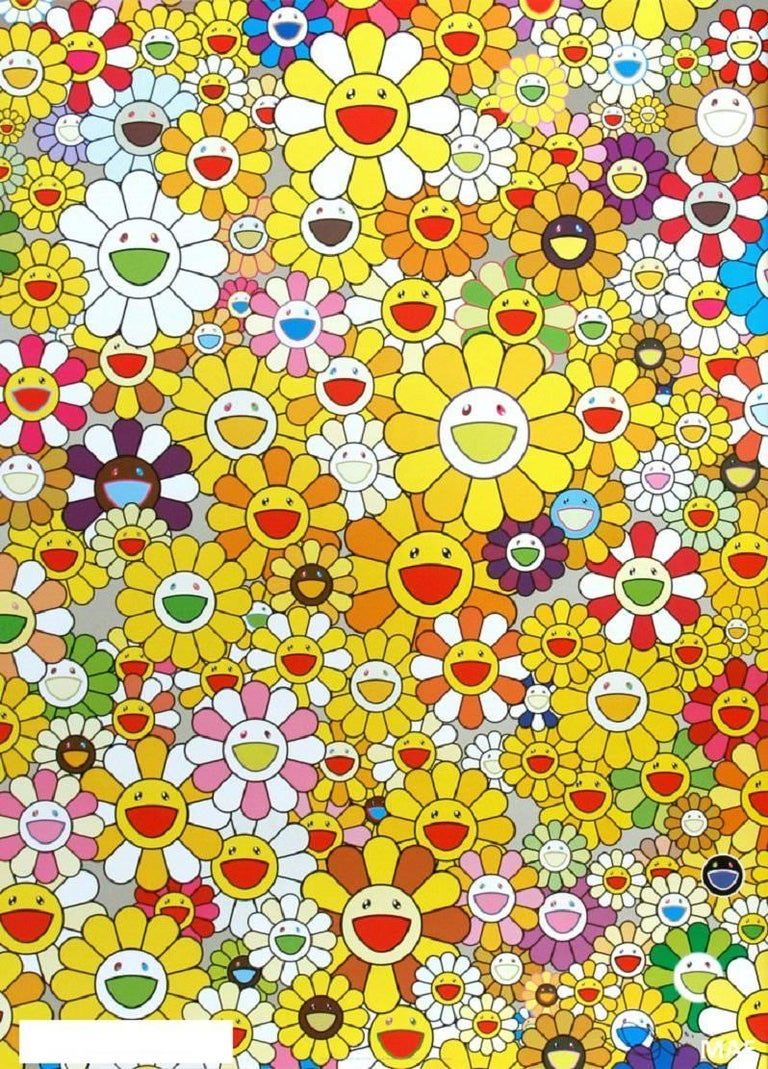 Takashi Murakami Murakami Print With Cold Stamp Signed