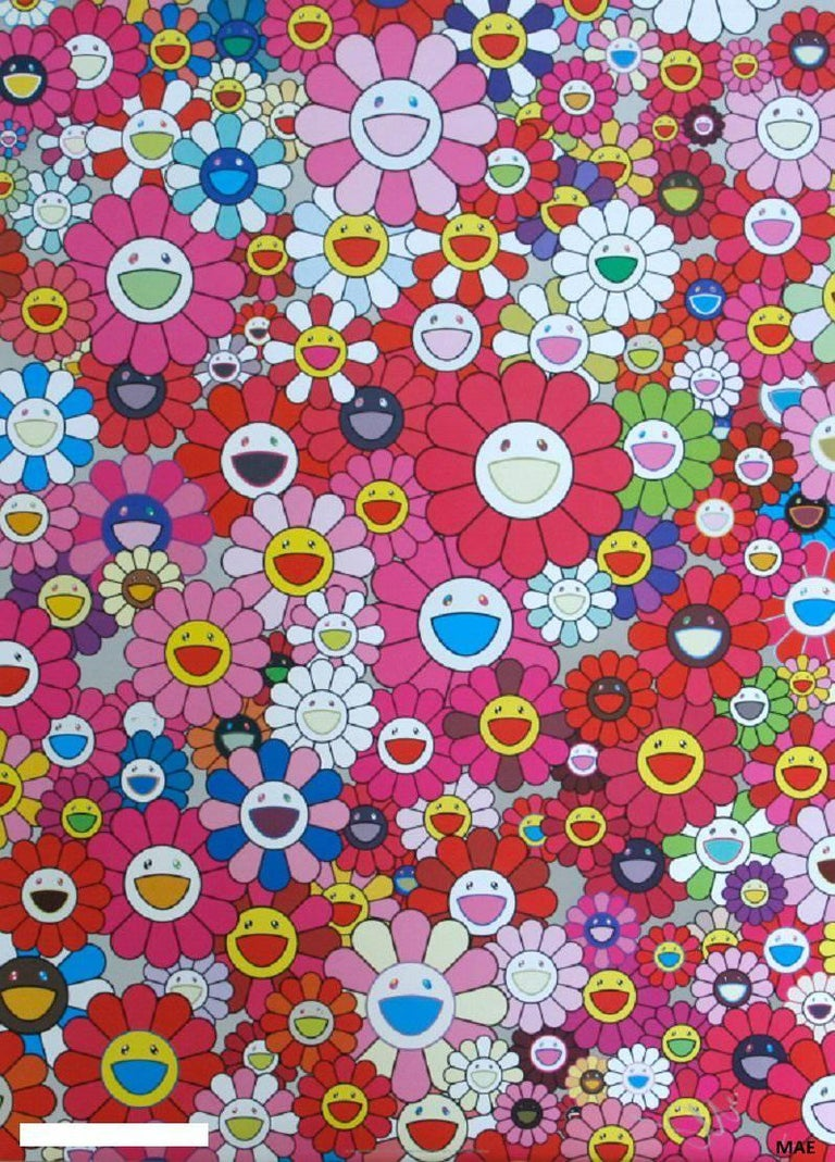 Murakami print with cold stamp, signed original - An Homage to Monogold, 1960 A - Print by Takashi Murakami