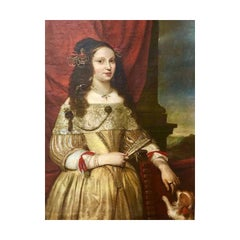 Portrait of a Noblewoman - Circle of Pier Francesco Cittadini.