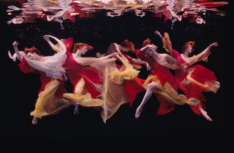 Howard Schatz Color Photograph - Underwater Study #3286, Katita Waldo