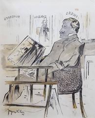 Jacques Villon - Marchand D'Art (The Art Dealer)
