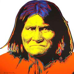Andy Warhol - Geronimo 384 by Andy Warhol