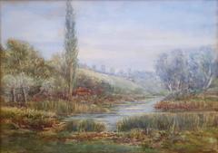 River Ouse Landscape, Yorkshire