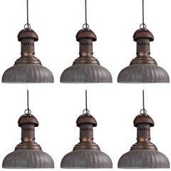 Industrial Grey Street Lamp
