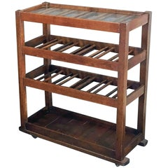 French Sommelier or Wine Tasting Table