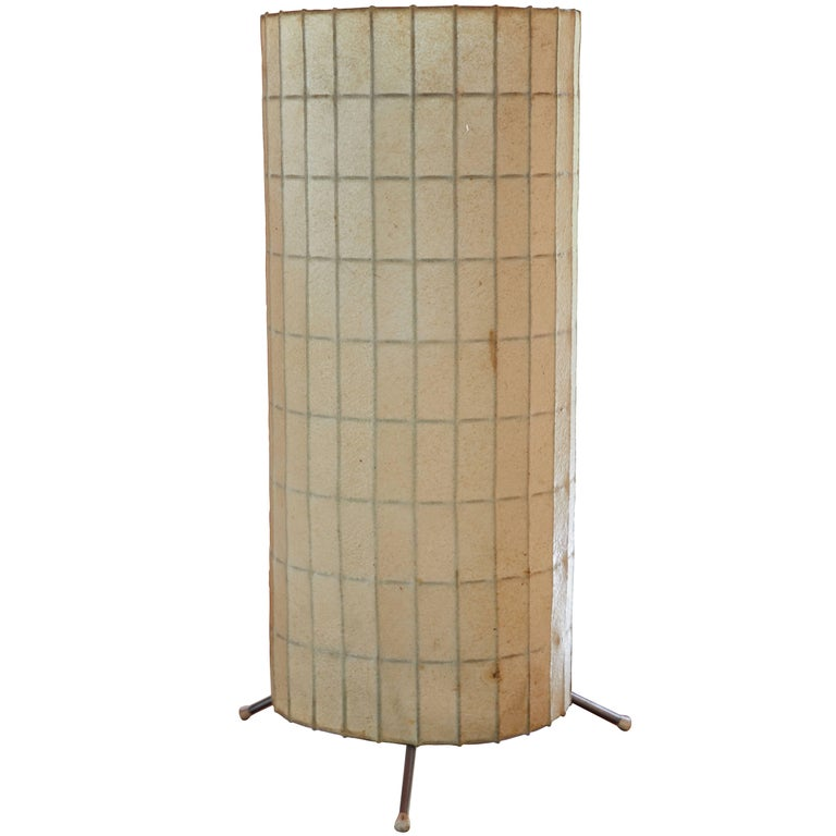 Rare George Nelson Cylinder Table Lamp for Howard Miller