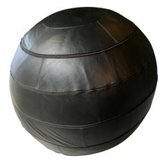 Rare Leolux Leather Patchwork Ball Chair